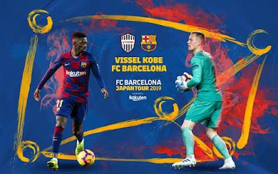 مشاهدة مباراة برشلونة و فيسيل كوبي