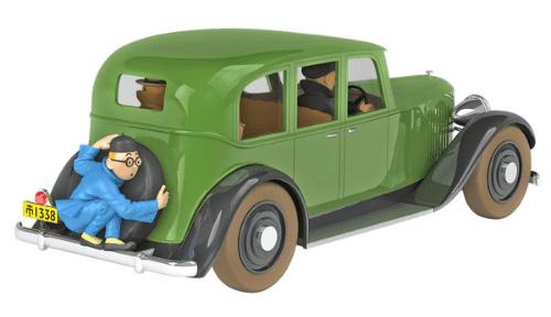 la voiture de mitsuhirato 1:24 le lotus bleu, les voitures de tintín 1/24e, Les voitures de Tintín 1/24 hachette, tintin collection voitures 1/24, tintin collection voitures 1/24 hachette, collection tintin voitures miniatures, tintin collection voitures hachette