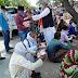 विधायक चंद्रपाल ने गरीबों को वितरित किए लंच पैकेट और मास्क