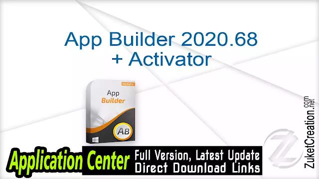 App Builder 2020.68 + Activator