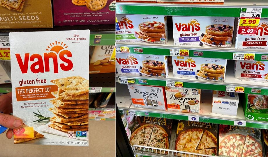 Van's Crackers and Waffles
