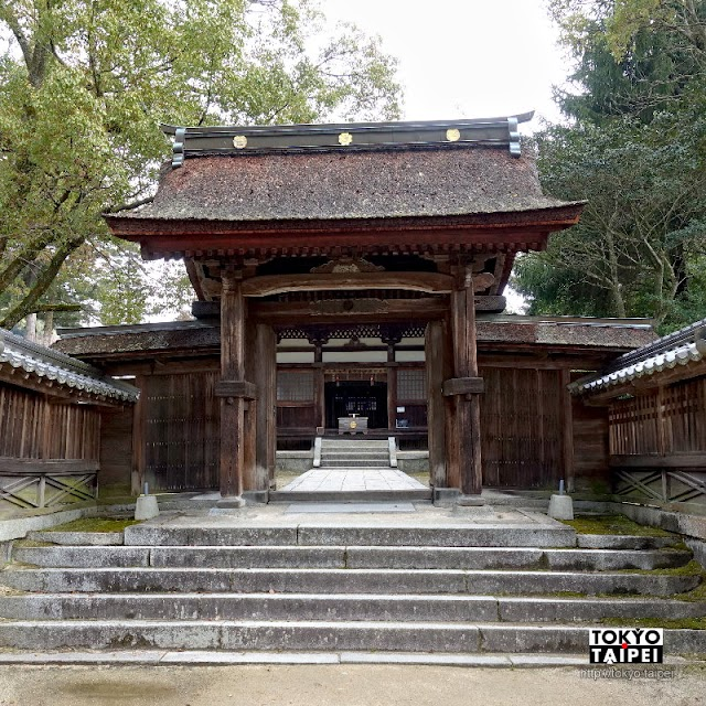 【吉香神社】位在公園內依山傍水 岩國藩主的家族神社