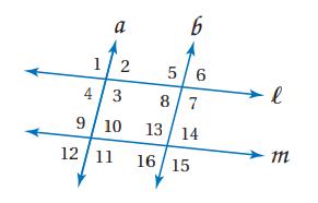 حل تحقق من فهمك لدرس إثبات توازي مستقيمين - التوازي والتعامد