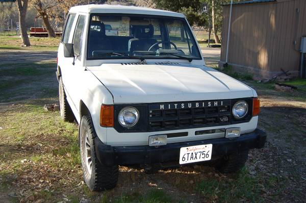 1989 Mitsubish Montero Sport 4x4 For Sale