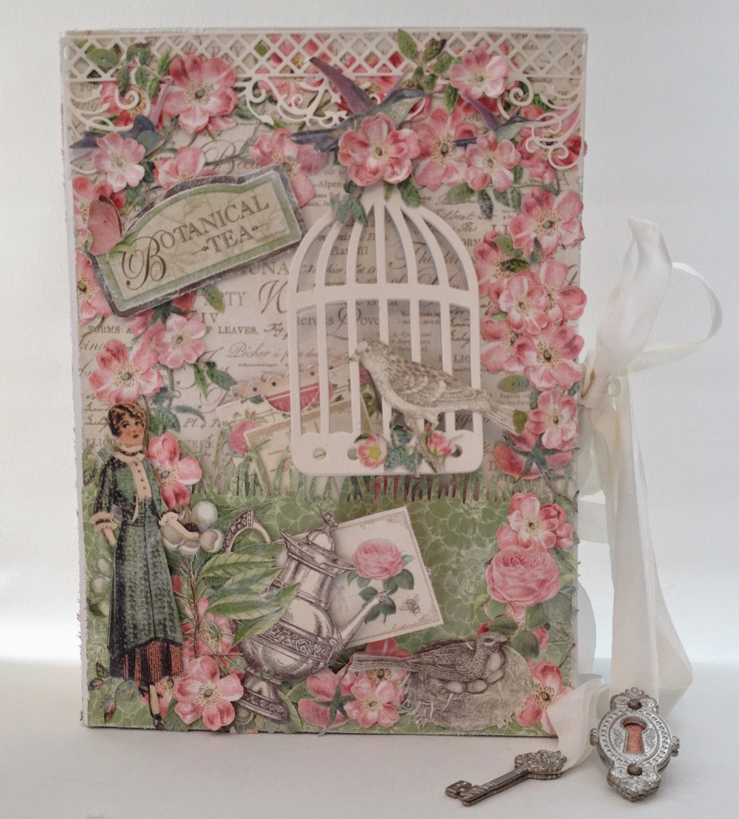 Annes Papercreations G45 Botanical Tea Envelope Mini