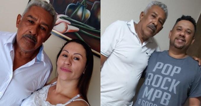 Irmãos de Goiânia e São Paulo encontram o pai na região de Itaituba após 36 anos sem contato, através de divulgação no Plantão