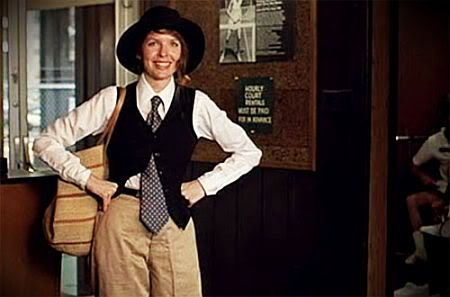 Pink Cowboy Boots: Today's Fashion Flashback -- ANNIE HALL