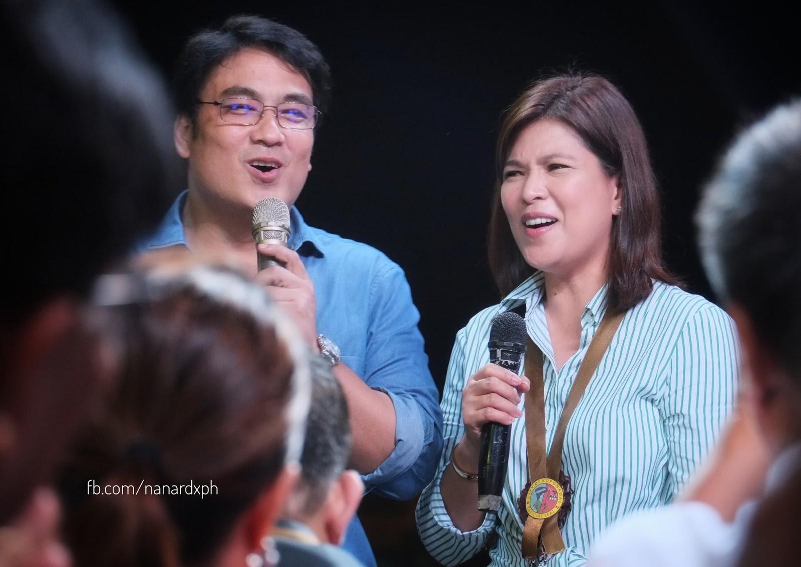 LOOK: Senator Bong Revilla & Lani Mercado attend Hinugyaw Festival