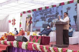 उच्च शिक्षा मंत्री डॉ.मोहन यादव के मुख्य आतिथ्य में नवनिर्मित गोपाल माता कन्या छात्रावास भवन का लोकार्पण सम्पन्न