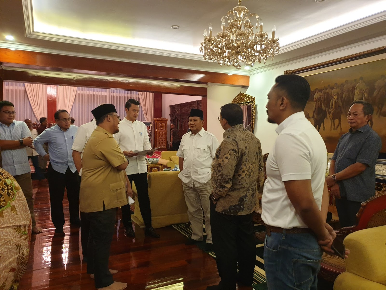 Alasan Betapa Tak Pentingnya Bagi BPN Hadiri Penetapan Jokowi