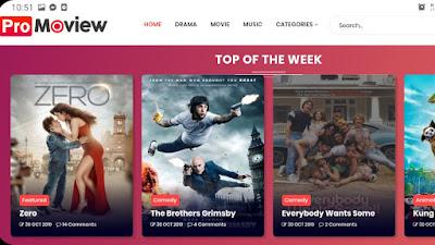 تحميل قالب افلام Moview blogger 2020 مجانا لمدونة بلوجر متوافق مع جميع الشاشات