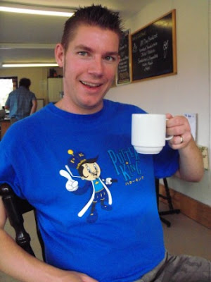 Having a Nice Cup of Tea in Weymouth