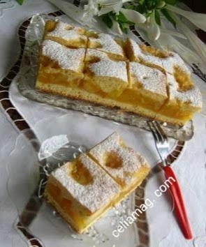 كيكة التفاح tartre aux pommes