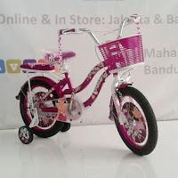 16 pacific astina sepeda anak perempuan