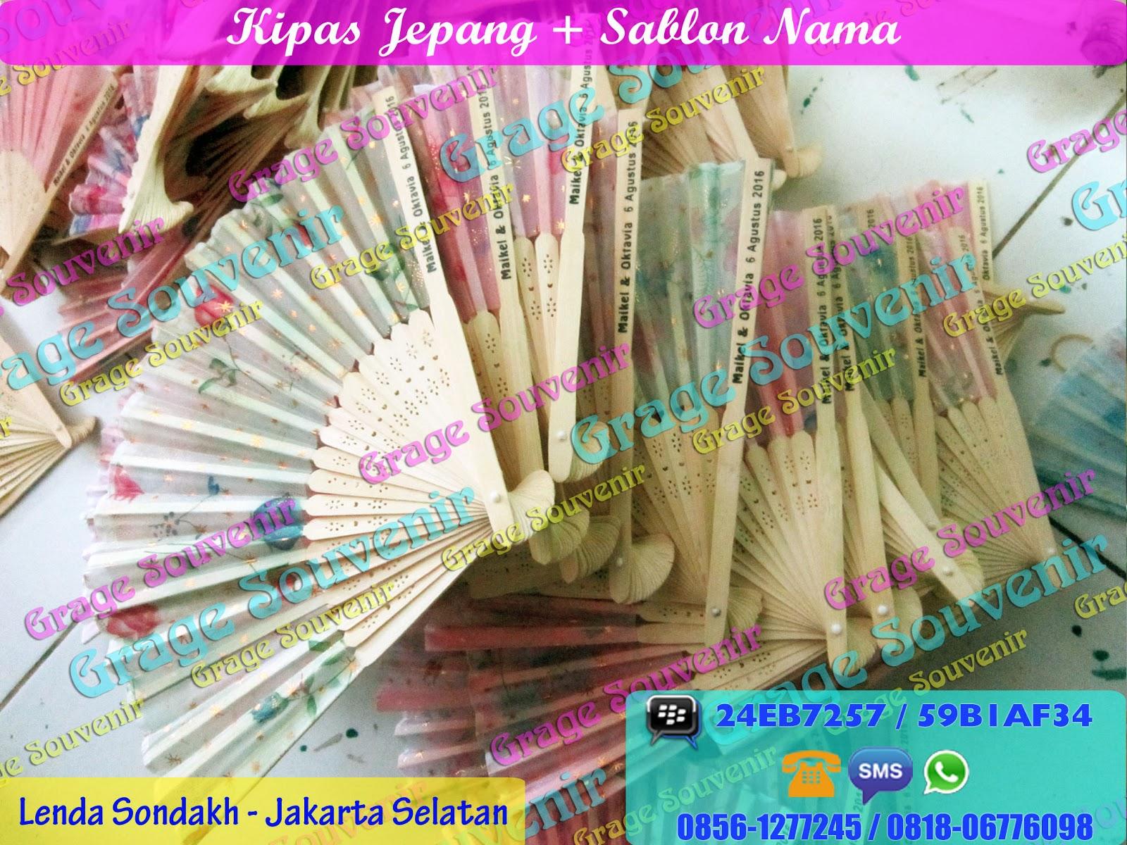 Jual Souvenir Pernikahan di Jakarta Selatan - Kipas Jepang