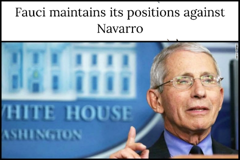 Fauci maintains its positions against Navarro