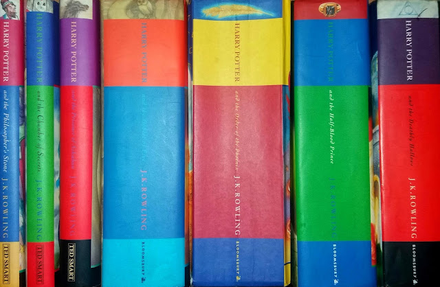 Harry Potter, harry potter books, first edition,