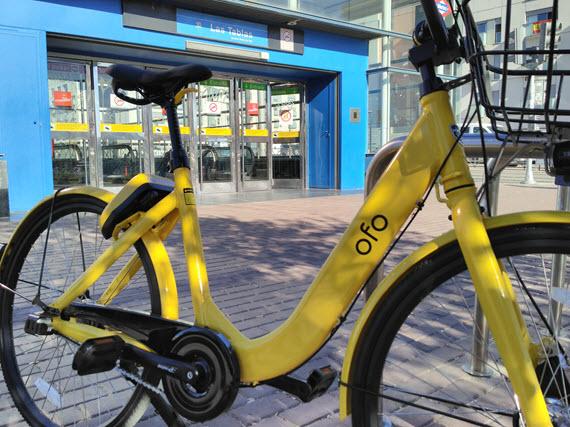 Probamos el servicio de bicis sin anclaje de ofo en bici - Anclaje para bicicletas ...
