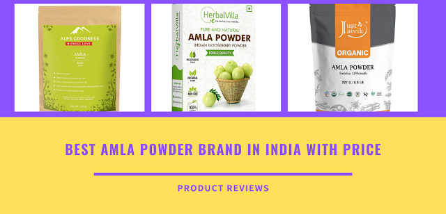 Best Amla Powder Brand in India with Price - uses of gooseberry powder for hair growth, weight loss, eating, skin whitening, face, buy online on amazon