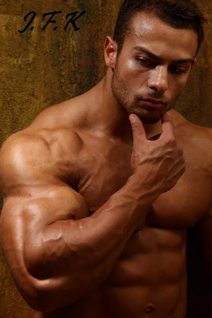 world bodybuilders pictures: french bodybuilder Christian