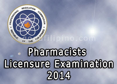 Top 10 Pharmacist Board Exam Results Released (June 2014)