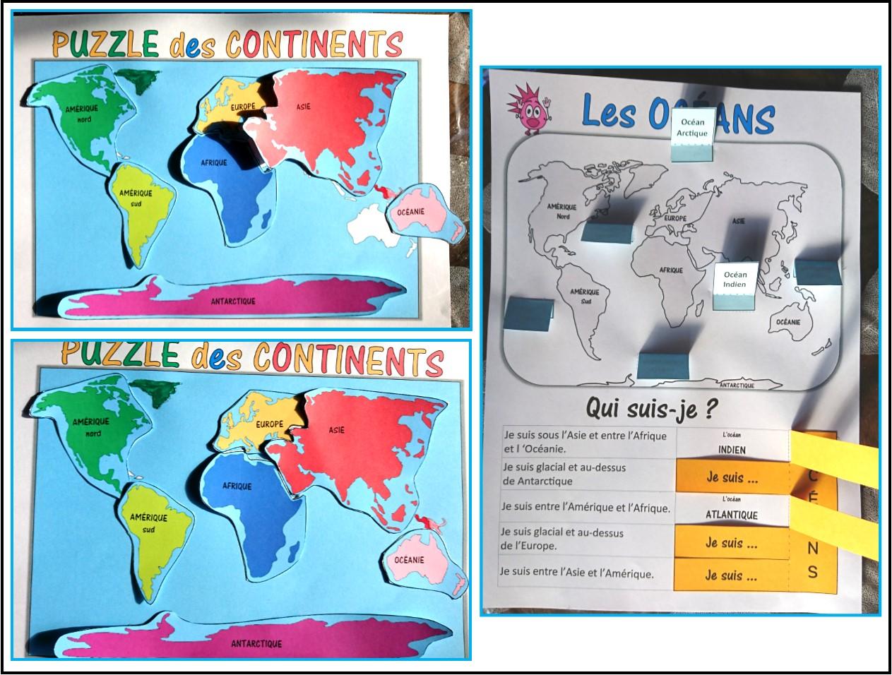 Ipotame Tame Les Continents Et Oceans