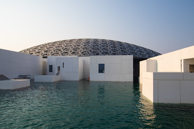 Cupola dell'Abu Dhabi Louvre-Cultural district-Abu Dhabi