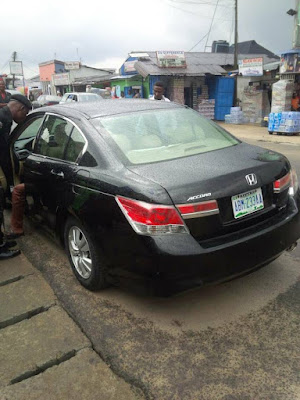 Owner Of A Honda Car Kidnapped And His Car Abandoned On The Road In River State (photo)