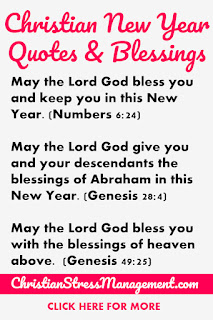 Christian New Year Quotes and Blessings