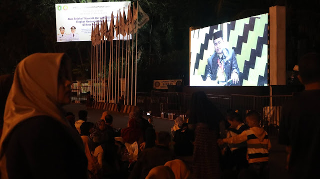 tempat wisata pontianak terbaru stq nasional 2019