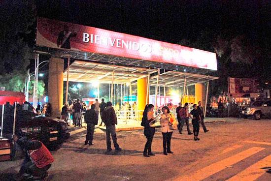 Mal tiempo genera pérdidas económicas en Fexpo Tarija