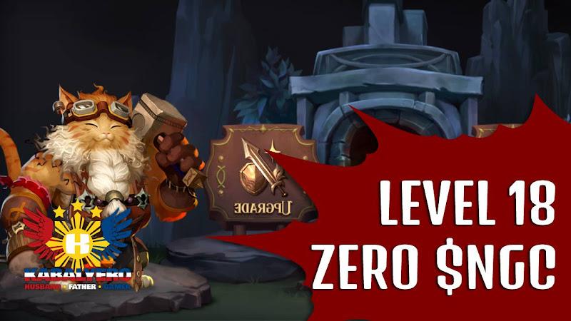 Level 10 - 18, ZERO $NGC - Nine Chronicles Gameplay (Blockchain Game)