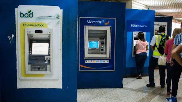 Cajeros automáticos no dispensarán todos los billetes del nuevo cono monetario