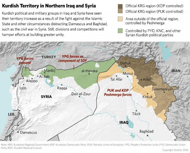 Η μάχη της Τουρκίας κατά της κουρδικής επέκτασης