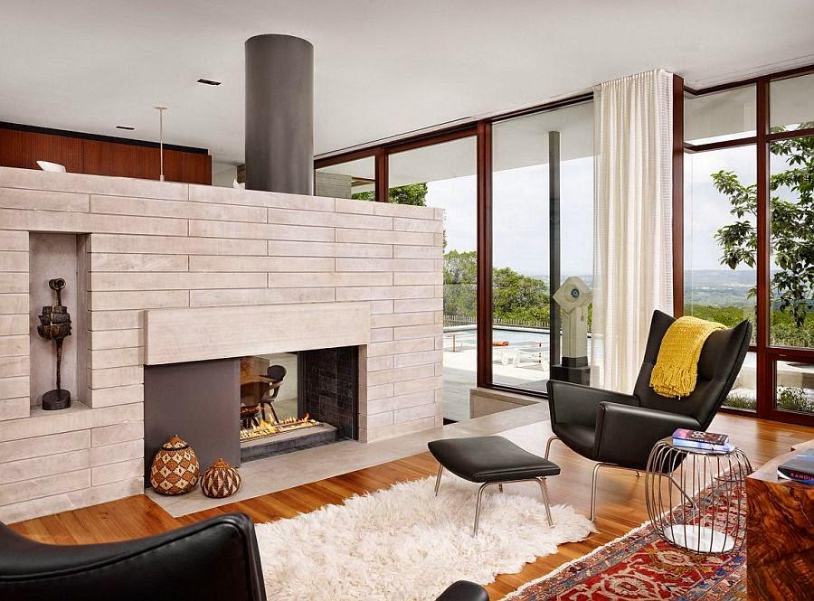 Muebles y decoraci n de interiores modelos de casas de for Arquitectura de interiores a distancia