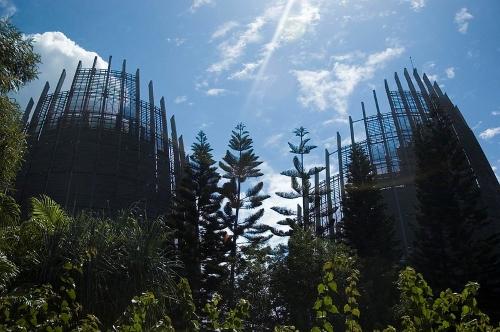 Renzo Piano-Nuova Caledonia-centro culturale-Francia