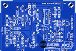 Membuat PCB Encoder Stereo Untuk Pemancar FM Sederhana