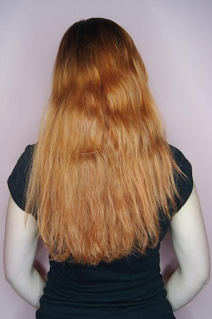 [290.] Niedziela dla Włosów - wygładzenie włosów na długości, przyciemnienie odrostu.