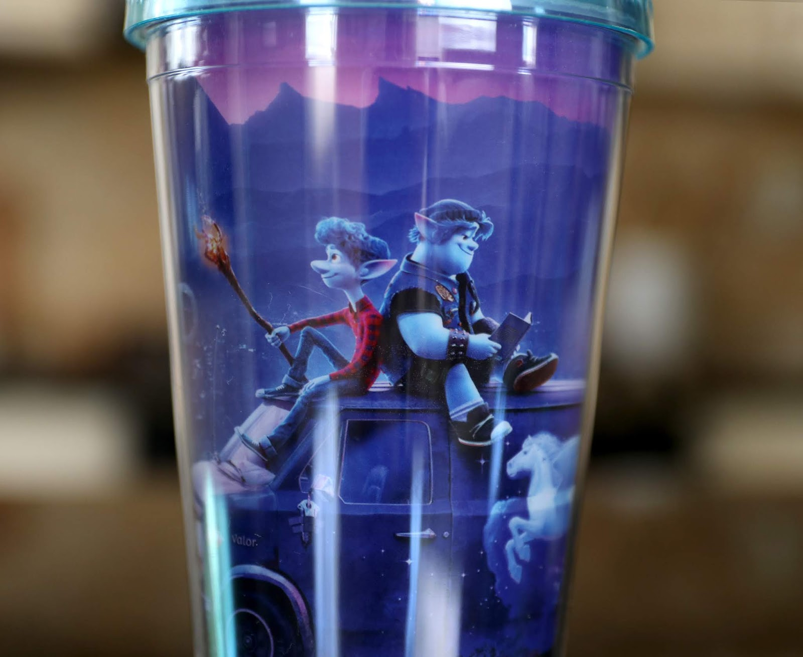 Onward Plastic Tumbler Cup Pixar Movie Marathon Exclusive