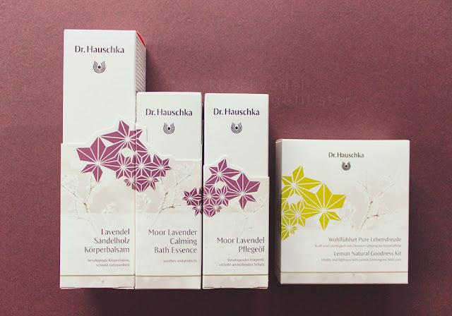 Hauschka Wintergeschenke Körperpflege Bio Naturkosmetik Moor Lavendel limitiert