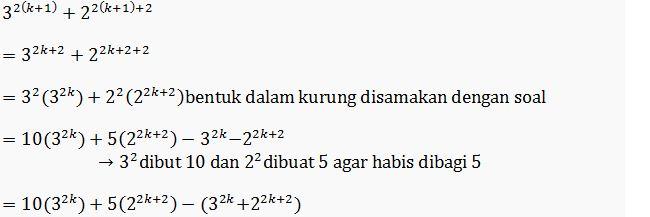 Materi Induksi dan Contoh Soal Induksi Matematika Materi Induksi dan Contoh Soal Induksi Matematika
