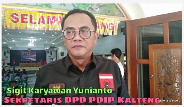 Sigit Karyawan Yunianto Tegaskan, DPC PDIP Bartim harus mengembalikan Marwah kemenangan