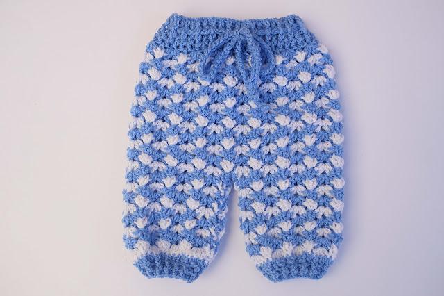 3 - Crochet Imagen Pantalón conjunto con jersey a crochet por Majovel Crochet