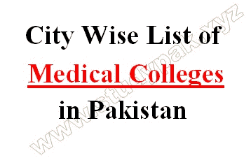 list of medical college in lahore and pakistan city