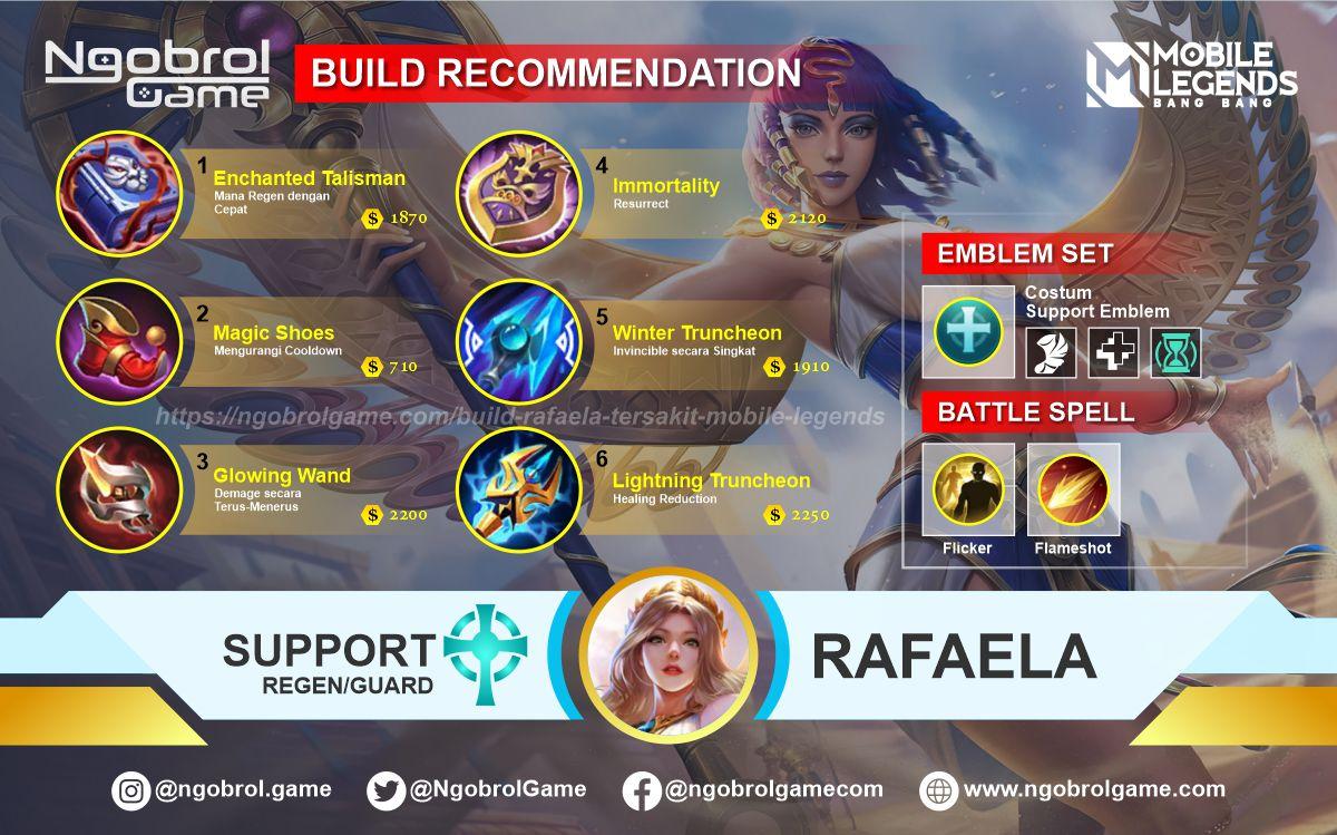 Build Rafaela Top Global Tersakit Mobile Legends