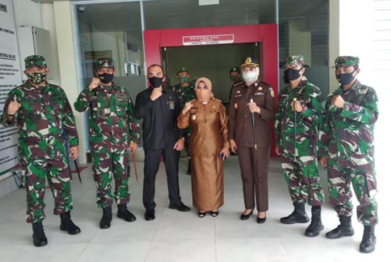 Danyonmarhanlan IV Sambut Kedatangan Pangdam I/BB di Tanjungpinang