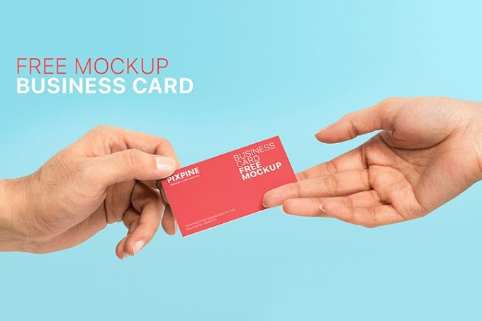 Business Card Mockup PSD | Free Download
