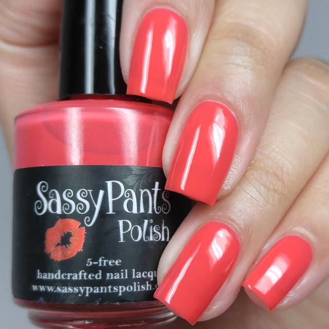 Sassy Pants Polish - Kiss Goodbye