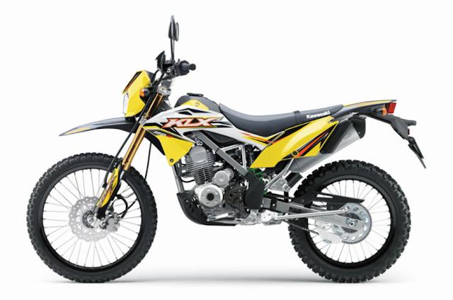harga terbaru Motor Kawasaki KLX 150BF SE