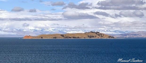 Lago Titicaca, panorama da Yumani